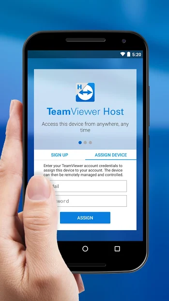 TeamViewer Host - mobile