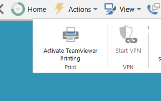 Teamviewer Printing To Local Printer